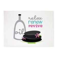 Relax Renew Revive 5'x7'Area Rug