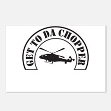 Get To Da Chopper Postcards (Package of 8)