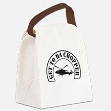 Get To Da Chopper Canvas Lunch Bag