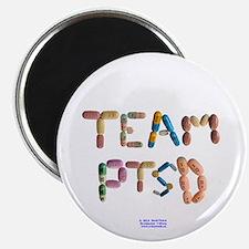 Team PTSD Button Magnets