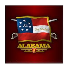 Alabama-Deo Vindice Tile Coaster