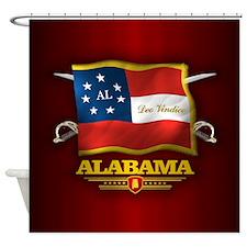Alabama-Deo Vindice Shower Curtain