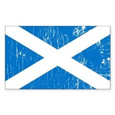 Vintage Scotland Rectangle Decal