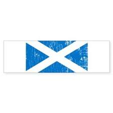 Vintage Scotland Bumper Car Sticker