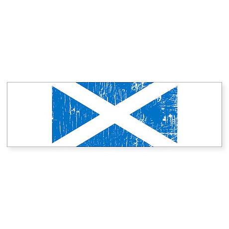 Vintage Scotland Bumper Sticker