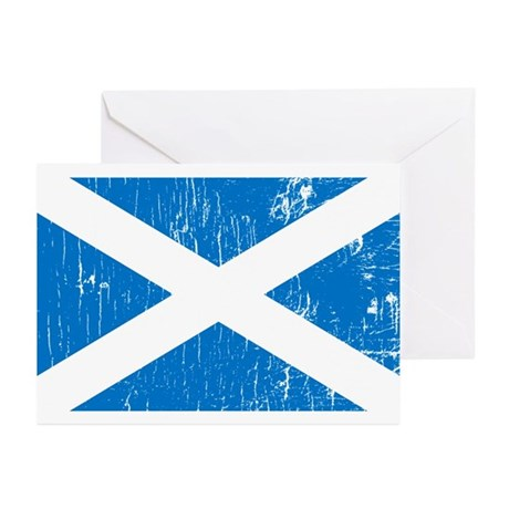 Vintage Scotland Greeting Cards (Pk of 10)