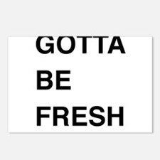 Gotta Be Fresh Postcards (Package of 8)