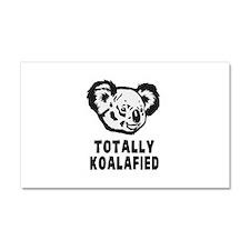 Totally Koalafied Koala Car Magnet 20 x 12