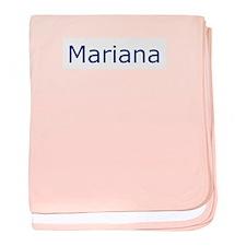 Mariana baby blanket