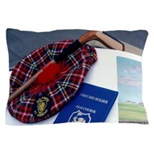 Scotland, St. Andrews. Golf still life Pillow Case