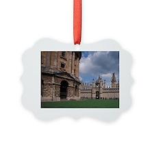 EUROPE, England, Oxford Universit Ornament