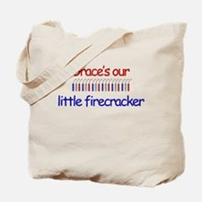 Grace Firecracker Tote Bag