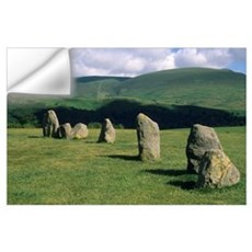 England, Castlerigg Stone Circle, Lake District. Wall Decal