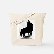 German Shepherd in German Tote Bag