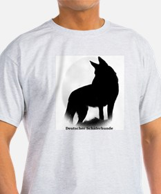 German Shepherd in German T-Shirt