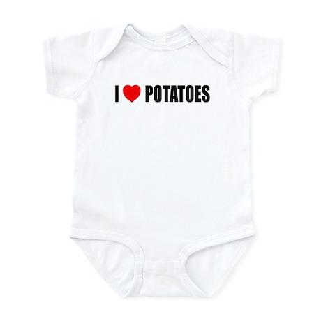 I Love Potatoes Infant Bodysuit