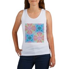 colorful blue pastel colors abstract pattern Tank