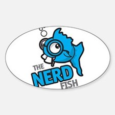 The Nerd Fish Logo Decal