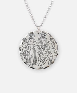 Morris Dancers from 16th Cen Necklace