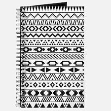 Tribal Pattern b/w Journal