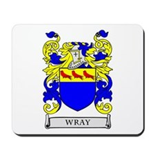 WRAY Family Crest Mousepad
