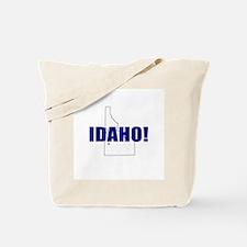 Idaho Map Tote Bag