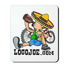 LocoJoe logo Mousepad