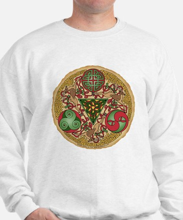 Celtic Reindeer Shield Sweatshirt