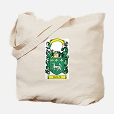 WOLFE Family Crest Tote Bag