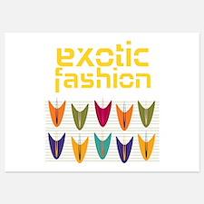 Tulip Exotic Fashion Invitations