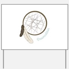 Indian Dreamcatcher Yard Sign