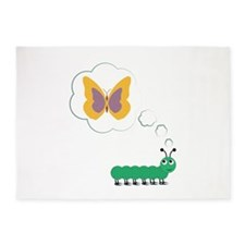 Butterfly Dream 5'x7'Area Rug