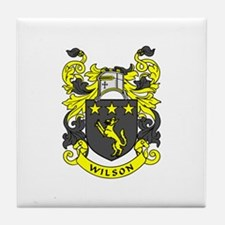 WILSON 2 Family Crest Tile Coaster