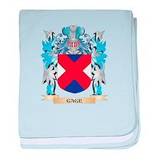 Cute Gage baby blanket