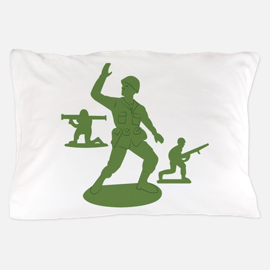 Army Men Toys Pillow Case