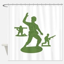 Army Men Toys Shower Curtain