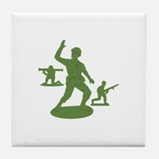 Army Men Toys Tile Coaster