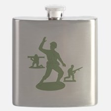 Army Men Toys Flask