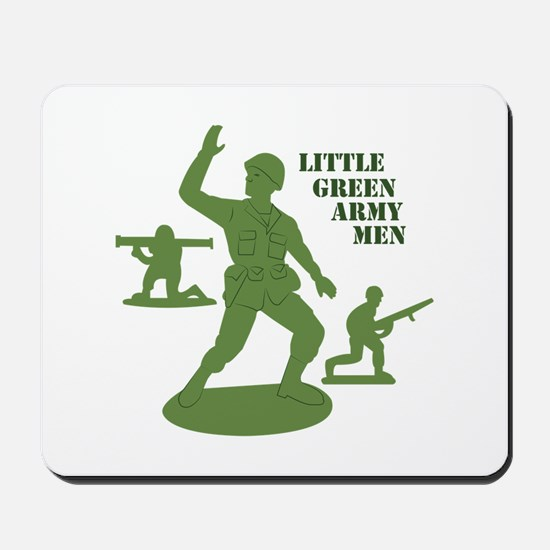 Green Army Men Mousepad