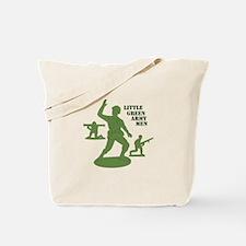 Green Army Men Tote Bag