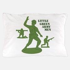 Green Army Men Pillow Case