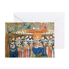 Henry VIII Defender of the Faith and Greeting Card