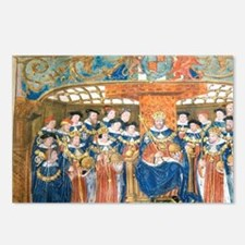 Henry VIII Defender of th Postcards (Package of 8)