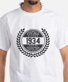 Vintage 1934 Aged To Perfection T-Shirt