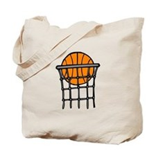Ball in Basket Tote Bag
