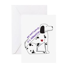 Dalmation Greeting Cards