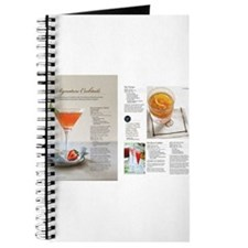 cocktail recipe Journal