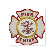 Fire Chief Firefighting Sticker