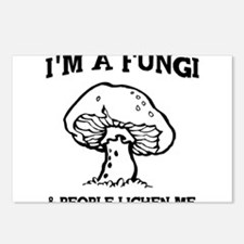 I'm A Fungi & People Lichen Me Postcards (Package