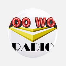"Doowop Radio Logo 3.5"" Button"